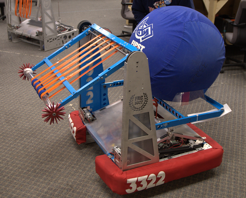 Rohrbot from FRC Team 3322